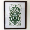 Knotty Hop - Framed Print