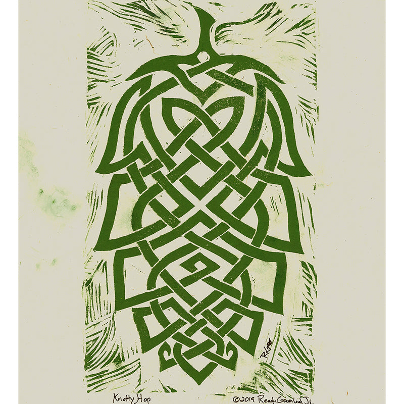 Knotty Hop - Art Print