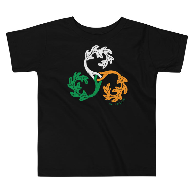 RambleTree - Irish Tricolour - Toddler Tee