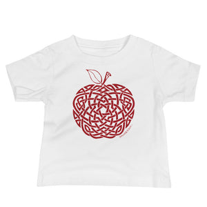 Morgan's Apple - Infant Tee (red print)