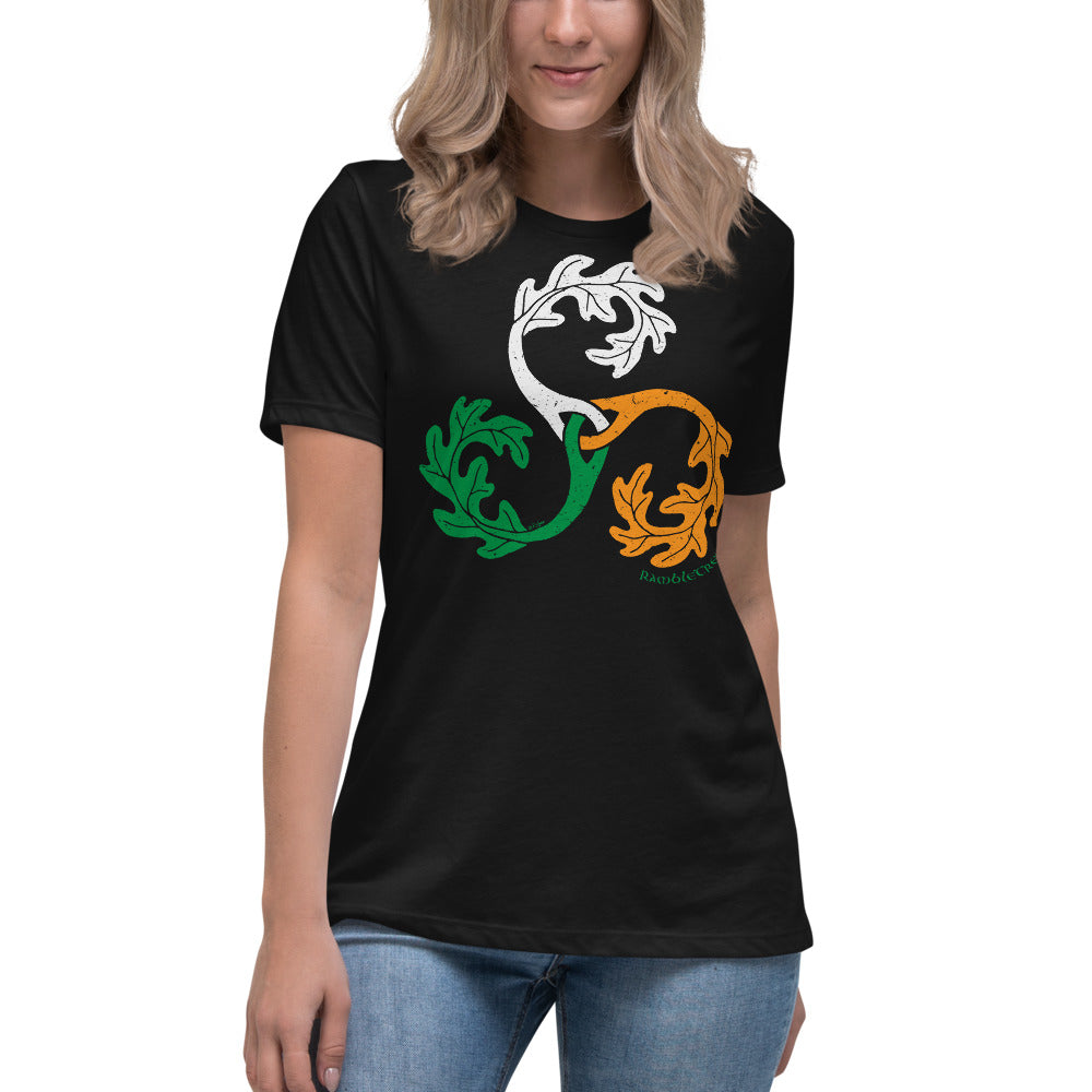 RambleTree - Irish Tricolour - Ladies Tee