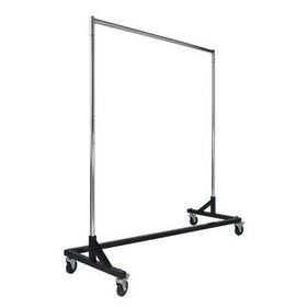 Z-Rack Rolling Clothing Garment Rack