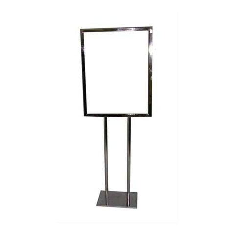"22"" Wide x 28"" High Bulletin Sign Holder with Flat Base"