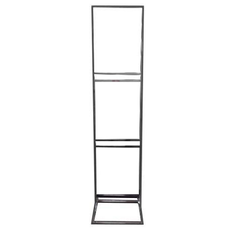 "BULLETIN SIGN HOLDER 3 TIER - 22"" W X 28"" H"