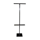 FLOOR BANNER STAND, HEIGHT ADJUSTABLE