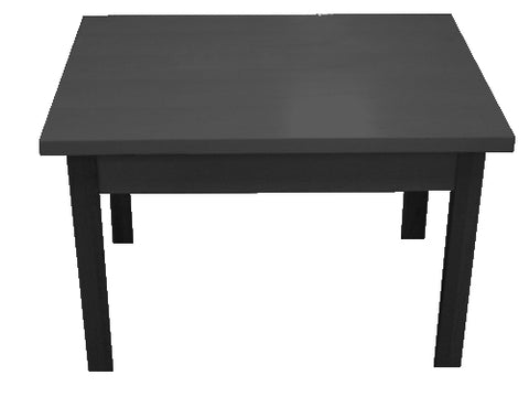 "Display Table 40"" W x 30"" D x 24"" H"