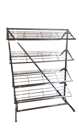 8 Shelf Shoe Rack - KZ Store Fixtures