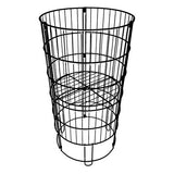 "Round Adjustable Dump Bin 30"" H x 15"" W"