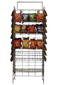 Chip Rack - Convenience Store Display