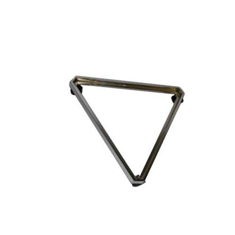 chrome triangle base for grid