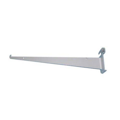 "14"" Shelf Bracket With Lip for Gridwall"