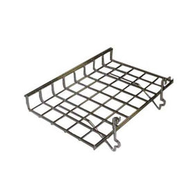Chrome 15 x 24 grid slatwall shelf