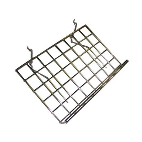 "24""L x 15""D Slant Shelf with Lip for Grid / Slatwall"