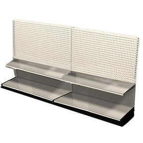 <strong>Used 8' wall section with base and 2 adjustable shelves</strong>