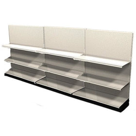 <strong>12' Long Store Display Shelving Wall Row</strong>