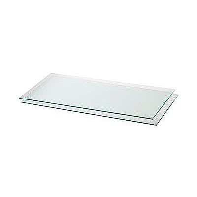 Polished Edge Tempered Glass Shelves