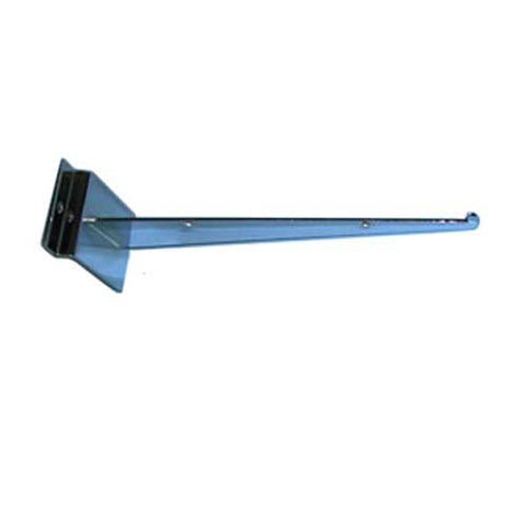 "Slatwall 8"" Shelf Bracket with Lip"