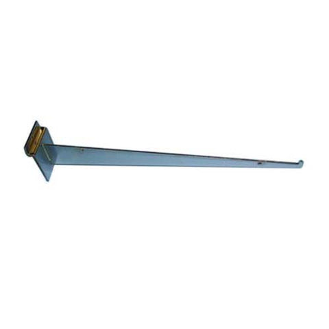"Slatwall 14"" Shelf Bracket with Lip"