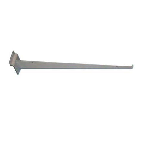 "Slatwall 16"" Shelf Bracket with Lip"