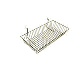 24 x 12 x 4 chrome wire basket