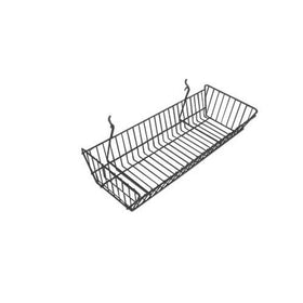 24 x 10 x 5 Basket For Gridwall / Slatwall