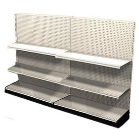 <strong>Used 8' wall section with base and 4 adjustable shelves</strong>