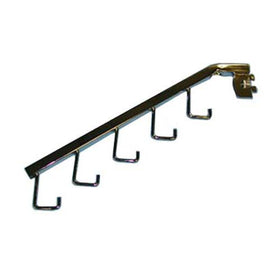 Waterfall 5 Hook Square Tube Fits Universal Slot