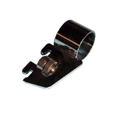 "Sidemount bracket for Universal Slot 1/2"" on 1"" Center - Holds 1"" Round Tube"