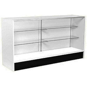<strong>6' Full Vision Wood Sided Display Case - Value Series Showcase</strong>