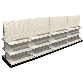 <strong>16' Long Retail Display Shelving Double Sided</strong>