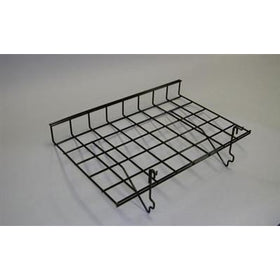 <strong>Straight Shelf With Lip for Gridwall / Slatwall - 24 x 15 Box of 5</strong>