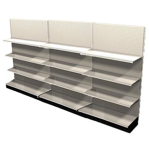 <strong>12' Long Retail Shelving Row Wall Units</strong>