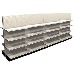 <strong>16' Long Row Store Display Shelving</strong>