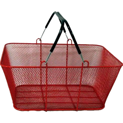 Perforated Metal Shopping Basket