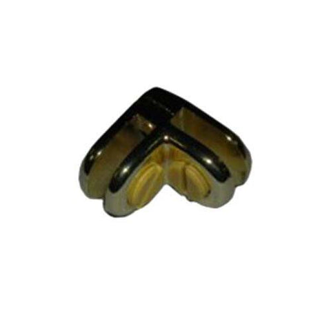 2-Way Metal Cubbie Clip Glass Connector