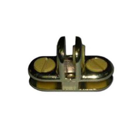 3-Way Metal Cubbie Clip Glass Connector