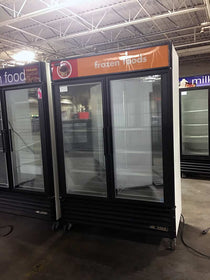 Used 2 Door Glass Door Freezers