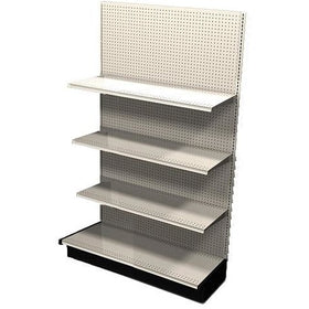 <strong>Used 4' wall section with base and 3 adjustable shelves</strong>