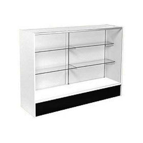 <strong>4' Full Vision Wood Sided Display Case - Value Series Showcase</strong>