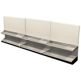 <strong>12' Long Retail Shelving Row Wall Section</strong>