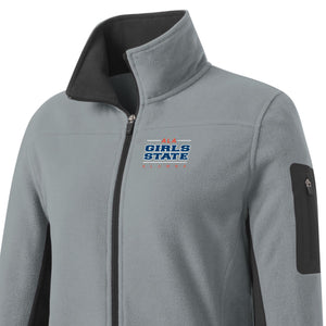ALA Girls State Alumna Summit Fleece Full-zip Jacket