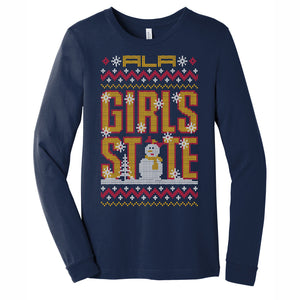 "ALA Girls State ""Ugly Sweater"" Unisex Longsleeve Tee"