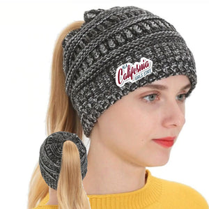 ALA CAGS Ponytail Beanie.