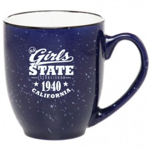 Girls State Bistro Mug - Navy
