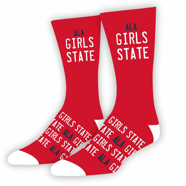 ALA Girls State Socks