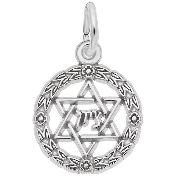 Rembrandt Charms, Star of David Wreath