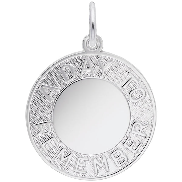 Rembrandt Charms, A Day to Remember, Engravable