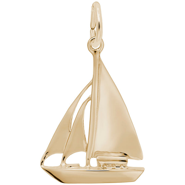 Rembrandt Charms, Cutter Sailboat
