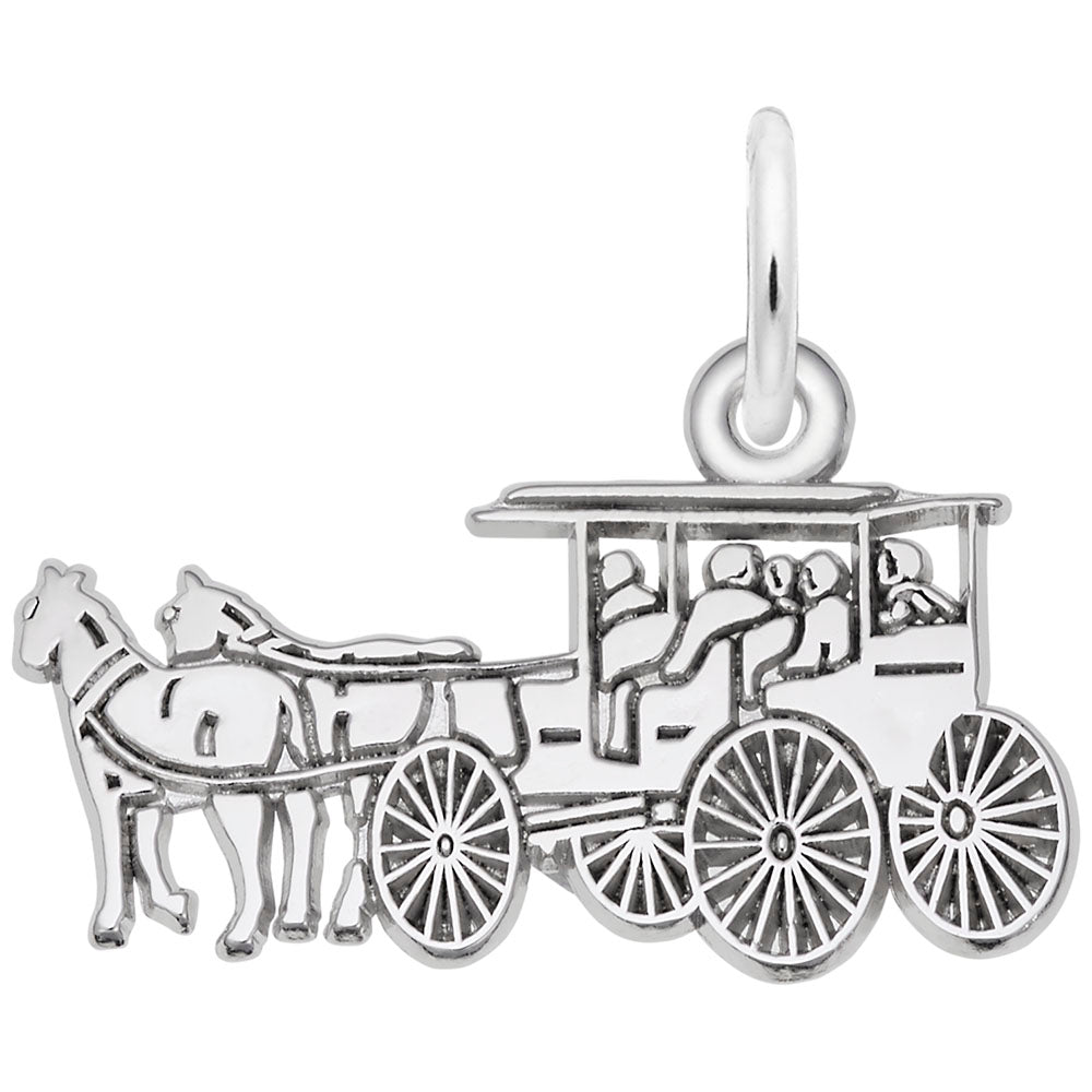 Rembrandt Charms, Horse & Carriage