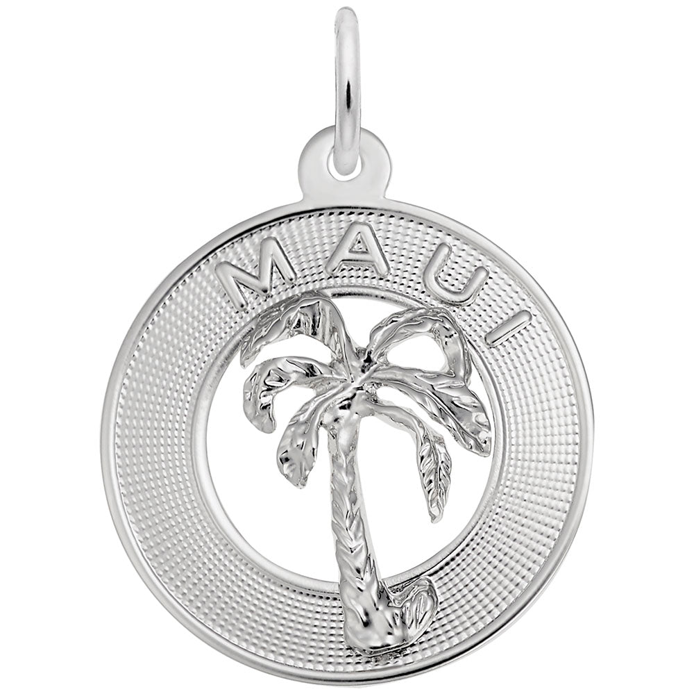 Maui Palm Tree, Engravable